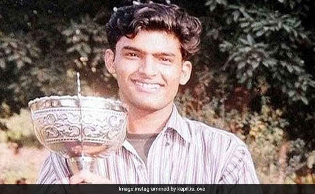 A Pic Of Kapil Sharma As A College Student Goes Viral
