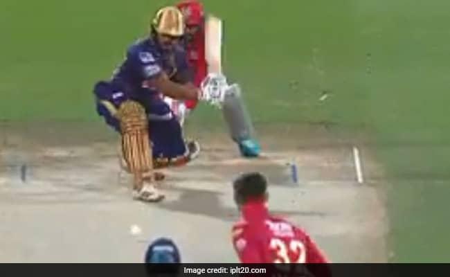 Watch Glenn Maxwell tyakes The big wicket of Nitish Rana Watch viral video KKR Vs KXIP match no 46th of IPL 2020