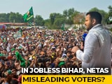 Video : Tejashwi Yadav's Promise Of 10 Lakh Jobs In Bihar Rattles BJP