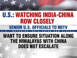 Video : Want To Ensure India-China Standoff Does Not Escalate, Says US