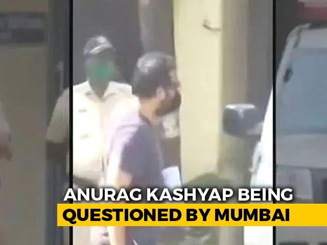 Video : Filmmaker Anurag Kashyap Questioned By Mumbai Police In Rape Case