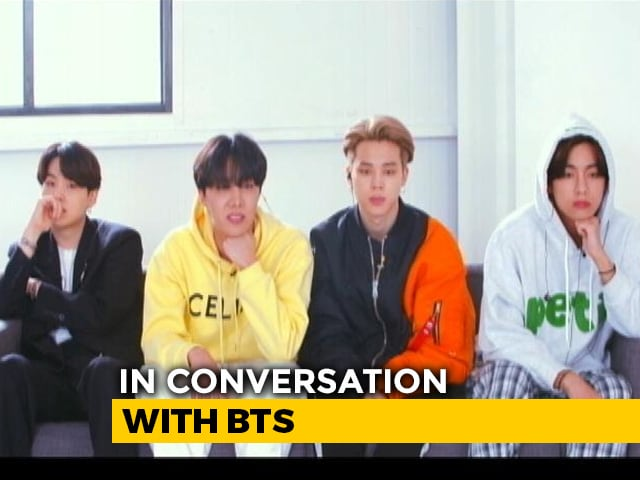Namaste, India: K-Pop Sensation BTS On Music And More In Exclusive Interview To NDTV