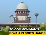 "Video : ""Common Man's Diwali..."": Top Court Nudge For Loan Relief By November 2"