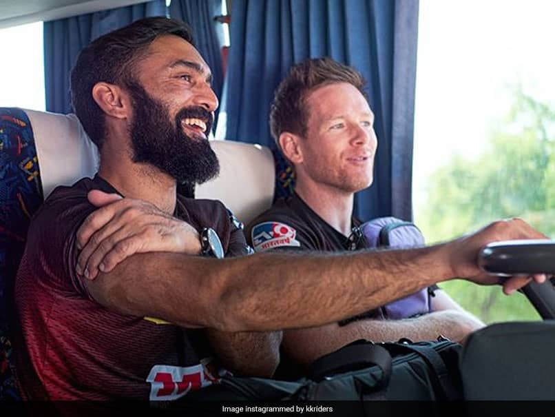 """Incredibly Selfless"": Eoin Morgan Reveals Why Dinesh Karthik Gave Up KKR Captaincy"