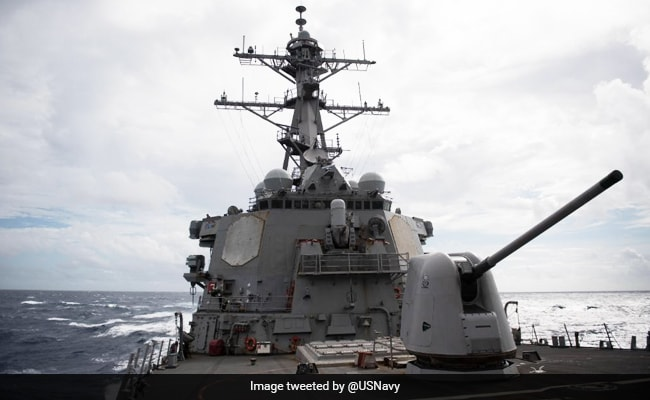 'Warn US To Stop...': China After Warship Sails Through Taiwan Strait