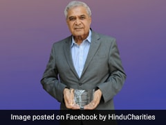 Indian-Origin Philanthropist Gets Lifetime Achievement Award In US