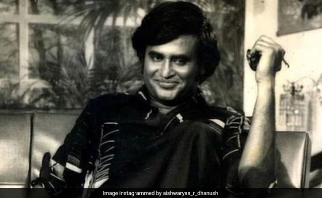 Smile Please: Rajinikanth In A Throwback Gem Shared By Daughter Aishwarya