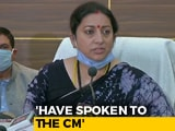 "Video : Rahul Gandhi's Visit To Hathras ""Politics, Not For Justice"": Smriti Irani"