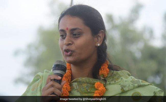 Shreyasi Singh, Commonwealth Shooter, Is BJP Candidate From Bihar's Jamui