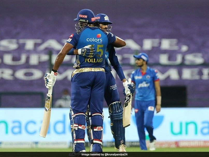 IPL 2020 Points Table: MI Beat DC To Go Top, RR Jump To 6 With Close Win Over SRH