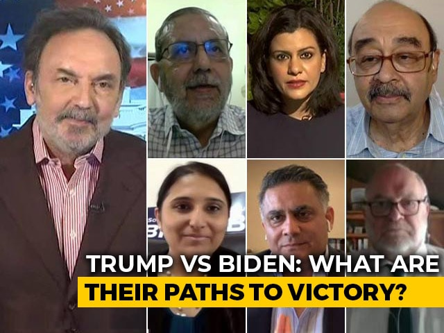 Video : Watch: Prannoy Roy's Analysis Of Whether Trump Will Return