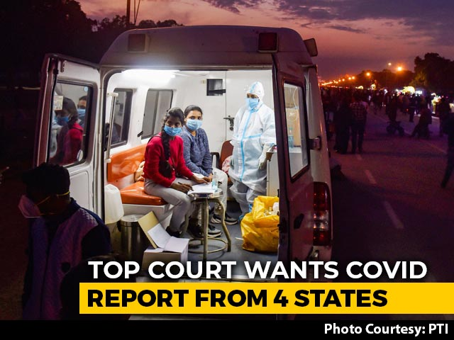 """Video : """"Situation May Worsen"""": Supreme Court Wants Covid Report From 4 States"""