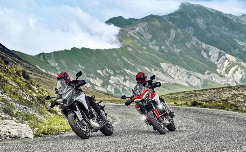 The Ducati Multistrada V4 joins the Multistrada 1260 and Multistrada 950 in the family