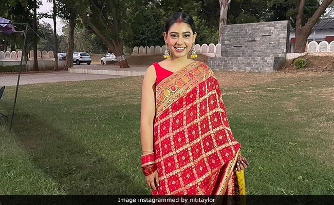 Niti Taylor Lights Up Instagram With Beautiful Pics From Her First Karwa Chauth