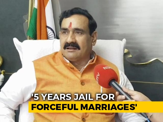 Video : Law Against 'Love Jihad' In Madhya Pradesh Soon, 5 Years' Jail: Minister