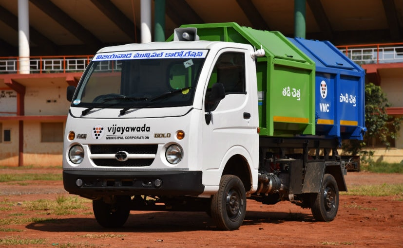 The purpose-built Tata Ace CNG Tippers promise lower tailpipe emissions and operating costs