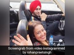रोहनप्रीत के साथ येलो कार में ड्राइव पर निकलीं नेहा कक्कड़, हनीमून पर यूं एंजॉय करते नजर आए कपल- देखें Video