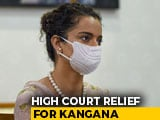 """Video : Kangana Ranaut Bungalow Demolished In """"Malice"""", She Will Get Damages: Court"""
