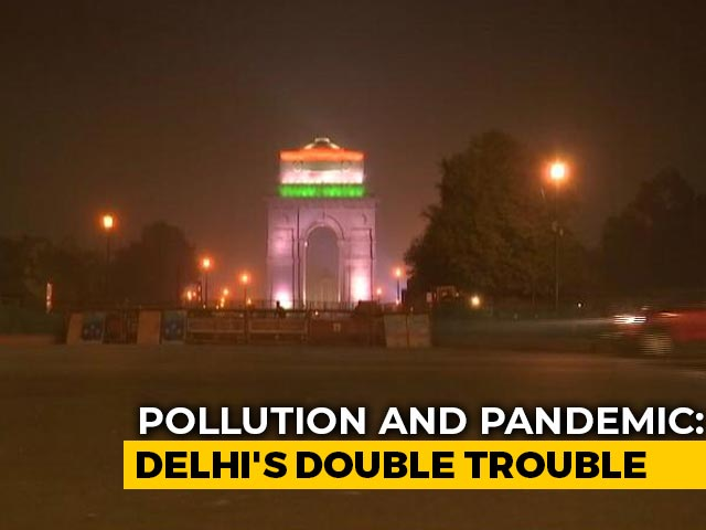 "Video : Air Quality In Delhi, Adjoining Areas Falls To ""Severe"" Category"