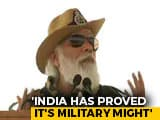 """Video : """"If Tested At Border, Answer Will Be Befitting"""": PM's Diwali With Soldiers"""