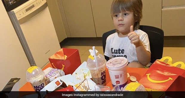Viral Now: 4-Year-Old Kid Uses Mom's Phone To Order Fast Food Worth INR 5,500
