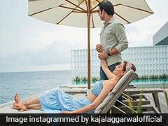 Kajal Aggarwal और Gautam Kitchlu हनीमून पर रोमांटिक अंदाज में आए नजर, Photos में दिखा खूबसूरत अंदाज