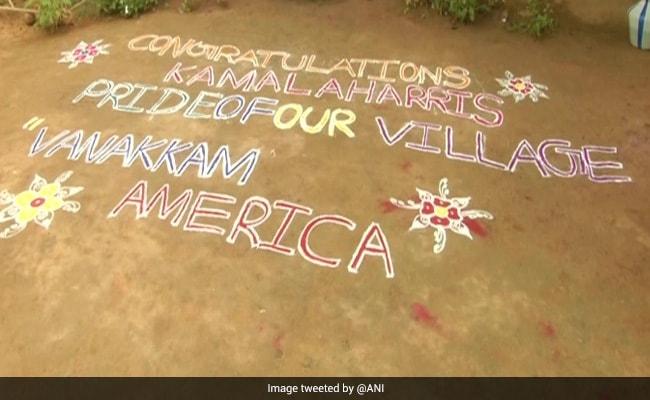 'Pride Of Our Village': Kamala Harris' Ancestral Village Celebrates Her Victory