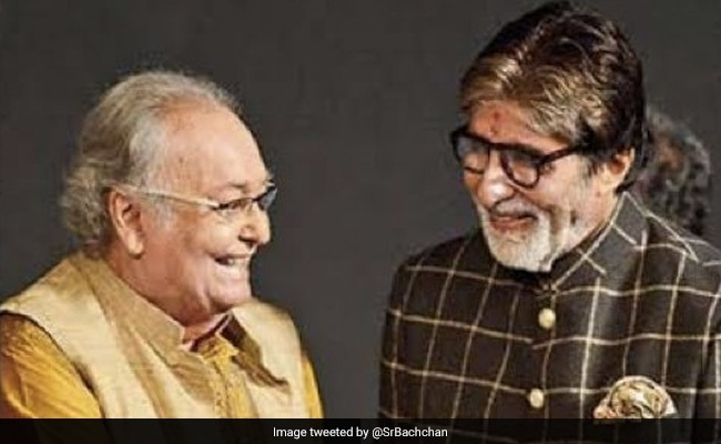 Amitabh Bachchan Mourns Soumitra Chatterjee: 'A Gentle Human, Filled With Grace'