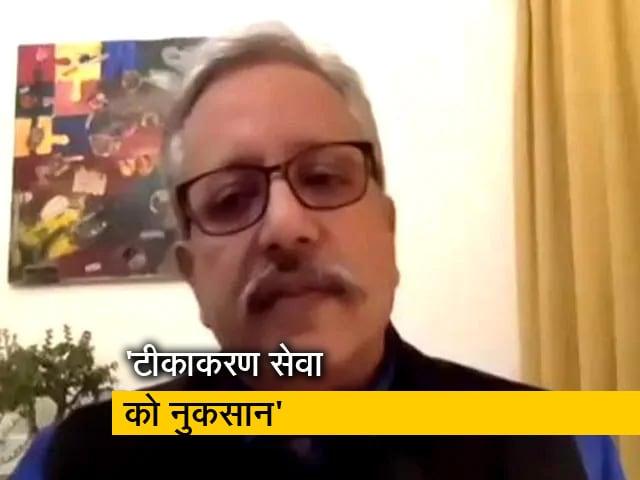 Video : टीकाकरण सेवाओं में लॉकडाउन के दौरान ठहराव आया : नीरज जैन