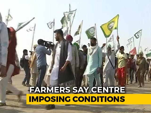 Video : Farmers Reject Amit Shah Talks Offer Hinging On Venue Change