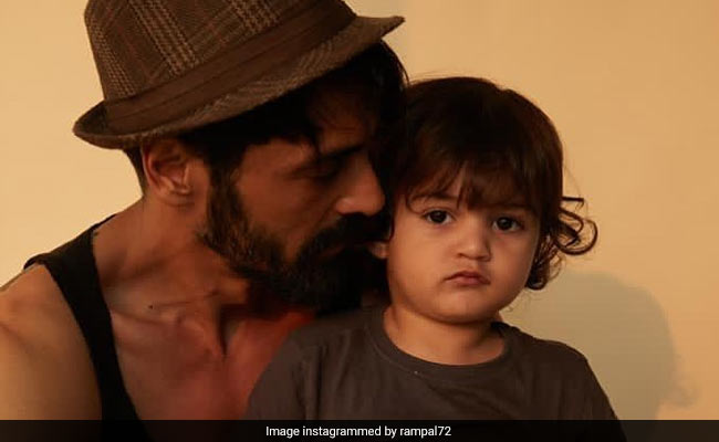 The Internet Loves This Pic Of Birthday Boy Arjun Rampal With Son Arik