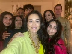 "Inside Preity Zinta's ""Stay-At-Home Diwali Party"" With Husband Gene Goodenough And Family"