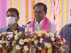 "Hours Before Amit Shah's Hyderabad Visit, KCR Slams ""Divisive Forces"""