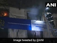 Fire At Industrial Estate In Mumbai; No Casualty