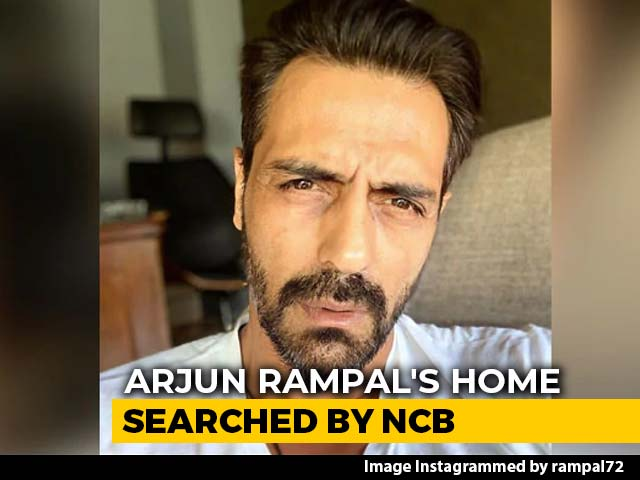 Video : Actor Arjun Rampal's Mumbai Home Searched By Anti-Drugs Agency NCB