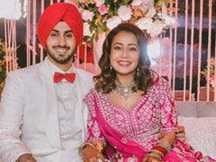 Neha Kakkar And Rohanpreet Singh Fly To Dubai For Honeymoon. See Pics