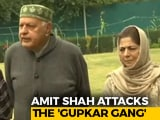 """Video : Why Is BJP Suddenly Talking About """"Gupkar Gang""""?"""