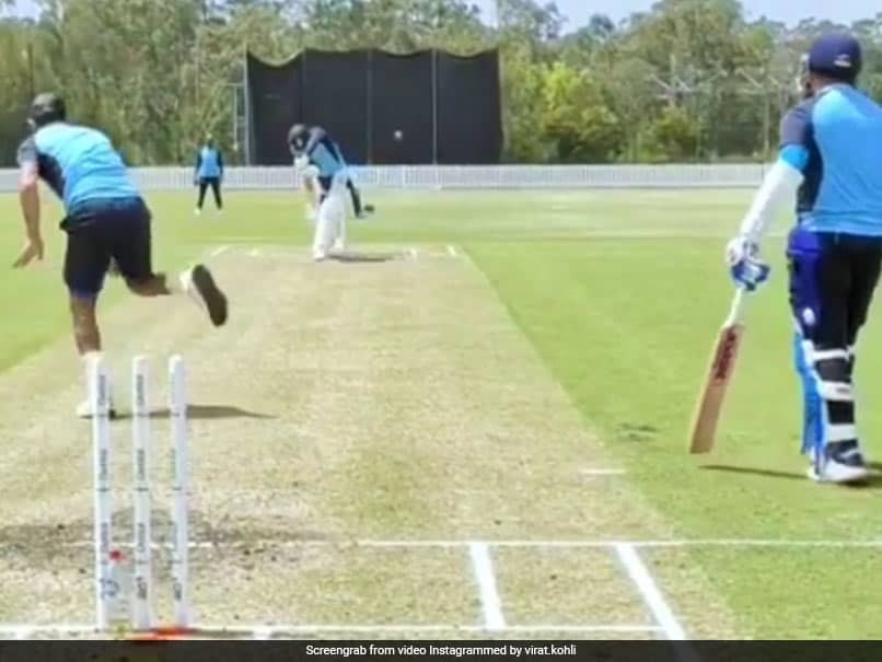Australia vs India: Virat Kohli Warms Up For Tests With Practice Sessions Against Mohammed Shami And Co. Watch