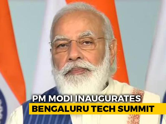 Video: Time For Tech Solutions Designed In India But Deployed For World, Says PM