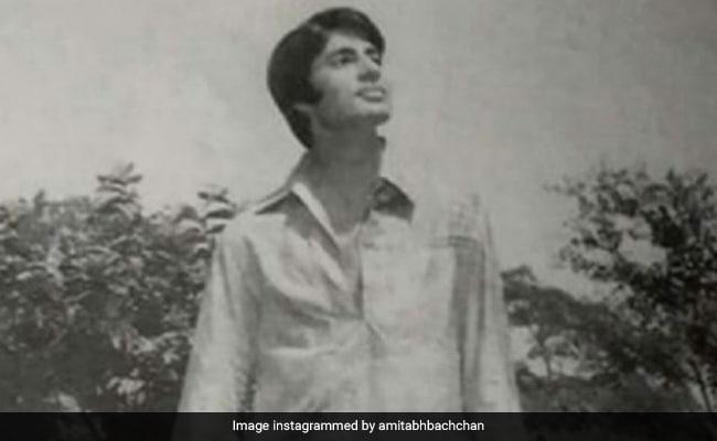 Looking Back, Amitabh Bachchan Is Cracking Up At His Own Fashion Sense