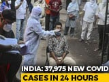 Video : India Covid Tally Nears 92 Lakh, 37,975 Fresh Cases Logged In A Day