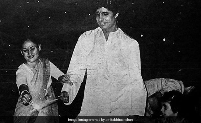 Diwali 2020: Amitabh Bachchan And Jaya Light Up Instagram With Blast From The Past