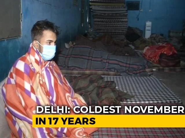 Video: At 6.9 Degrees, Delhi Records Coldest November Morning In 17 Years