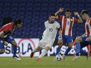 Lionel Messi Denied As Argentina Held By Paraguay In World Cup Qualifying