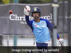 Watch: Wriddhiman Saha Warms Up For Australia Tests With Net Session