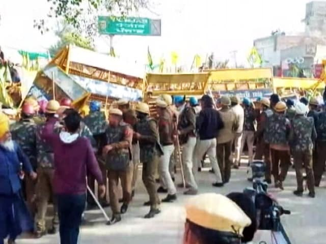 Video : New Epicentre Of Farmer Protests After Dramatic Clashes In Haryana