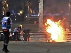 FIA Launches Probe Into Romain Grosjean Crash At Bahrain Grand Prix