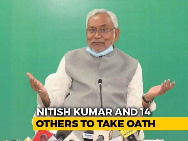 Video : Bihar Oath Today: Nitish Kumar, 2 BJP Deputy Chief Ministers, 12 Others
