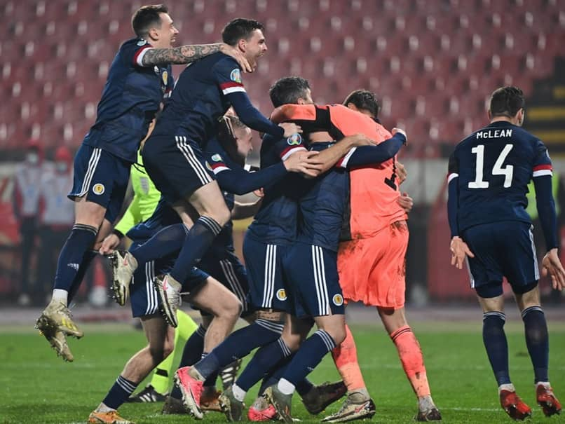 Scotland Qualify For Euro 2020 To End Long Wait As North Macedonia Make History