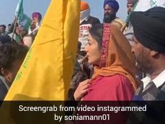 Farmers Protest: किसानों के साथ आंदोलन में उतरीं एक्ट्रेस सोनिया मान, बोलीं- किसान यूनियन जिंदाबाद...देखें Video